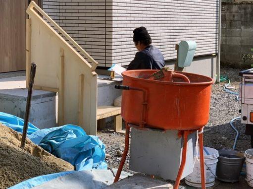 LABOT::左京区J様邸の外構工事、まずは草刈りからね