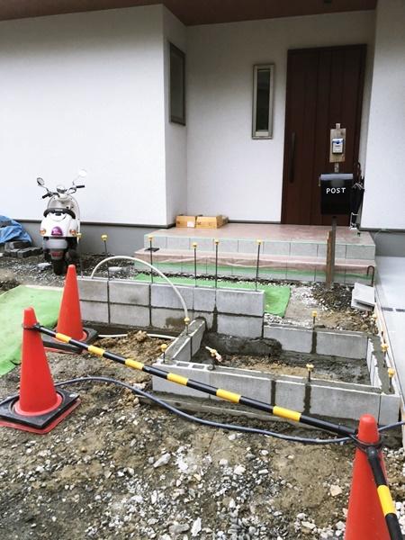 京都 LABOT - lab-t.com - 伏見区M様邸外構工事進捗レポート! -