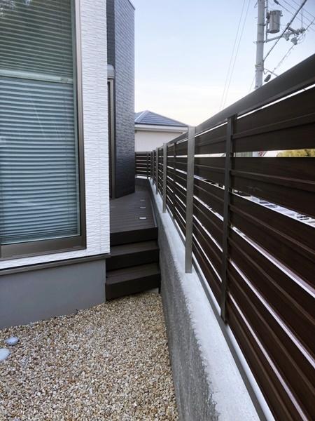 京都 LABOT - lab-t.com - デッキと目隠しフェンスでプライベート空間を作ろう -