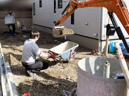 LABOT::左京区K様邸新築外構工事進捗レポート!