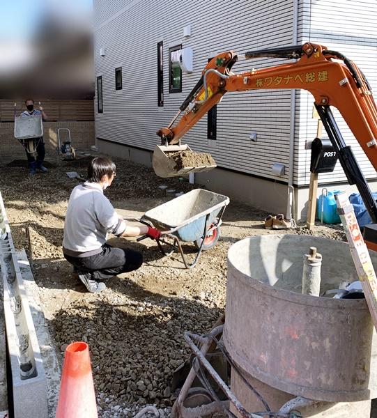 京都 LABOT - lab-t.com - 左京区K様邸新築外構工事進捗レポート! -