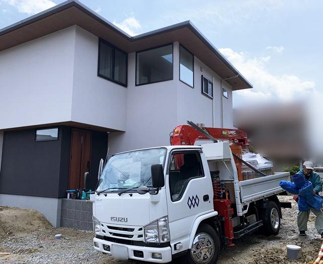 京都 LABOT - lab-t.com - 草津市でK様邸新築外構工事が着工しました -
