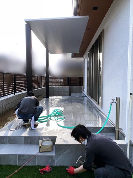 京都 LABOT - lab-t.com - 伏見区M様邸外構工事完工っ! -
