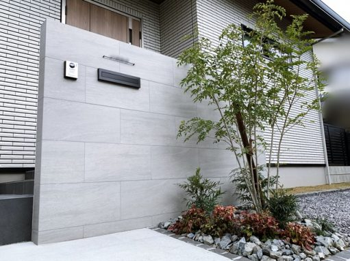 LABOT::左京区J様邸の外構工事が完工しました