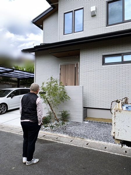 京都 LABOT - lab-t.com - 左京区J様邸の外構工事が完工しました -