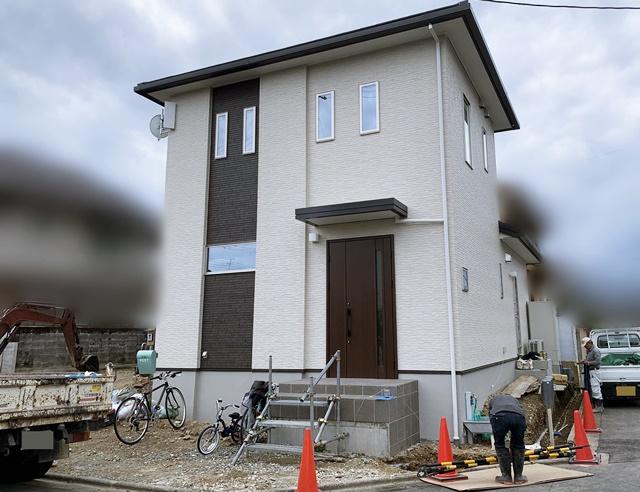 京都 LABOT - lab-t.com - 角地のN様邸、新築外構工事着工@西京区 -