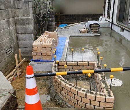 LABOT::お庭のリフォーム工事進捗レポート@城陽市Y様邸