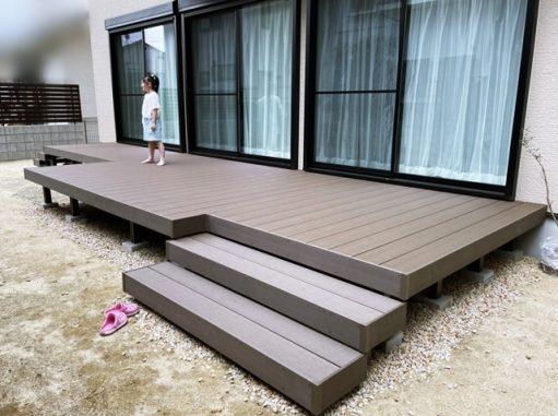 LABOT::伏見区S様邸、まずは広いお庭側の完成blog