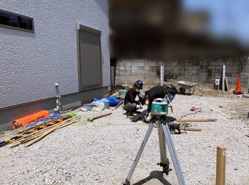 LABOT::新築外構工事着工!@西京区N様邸
