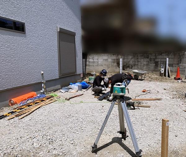 京都 LABOT - lab-t.com - 新築外構工事着工!@西京区N様邸 -