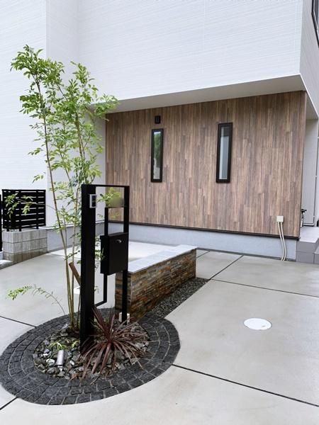京都 LABOT - lab-t.com - 城陽市K様邸の植栽工事 -