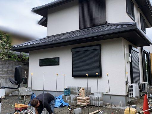 LABOT::右京区N様邸の新築外構工事着工
