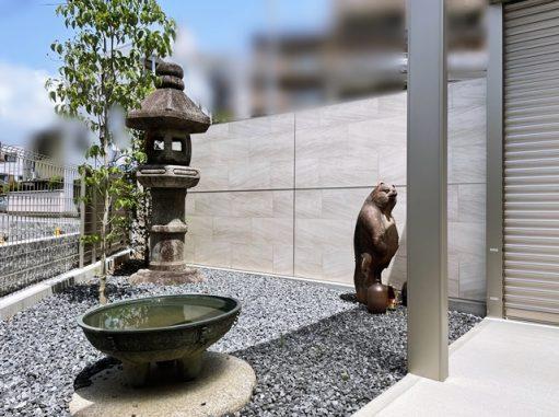 LABOT::坪庭@右京区S様邸、タカショーさんがプロカメラマンで撮影したいって!
