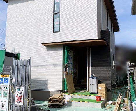 LABOT::向日市K様邸の新築外構工事が着工しました