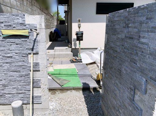 LABOT::右京区N様邸の新築外構工事進捗レポート!