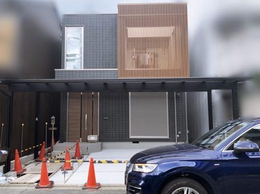 LABOT::ヘーベルハウスで建築されたM様邸新築外構工事始まってるよー