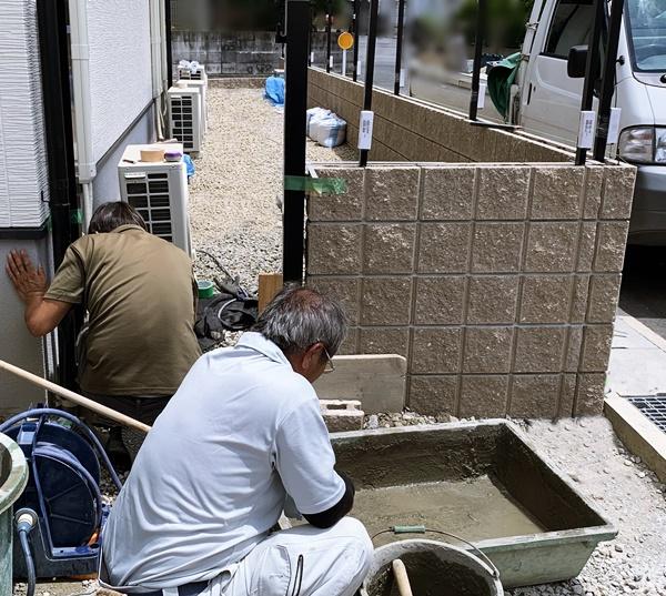 京都 LABOT - lab-t.com - 鉄平石を使ったアプローチ -