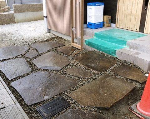LABOT::鉄平石を使ったアプローチ