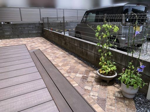 LABOT::【庭のリフォーム工事】今ある庭をもっと使いやすくできたらいいな@南区T様邸