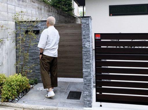 LABOT::右京区N様邸のクローズ外構とガーデンの施工例を更新しました