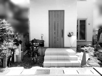 京都 LABOT - lab-t.com - 敷地の有効活用とデザイン性の両方を叶えたオープン外構 -