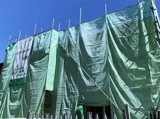 LABOT::西京区M様邸新築外構工事の準備中。