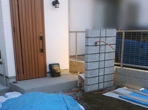 LABOT::新築外構工事着工@右京区N様邸