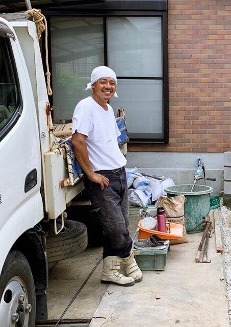 京都 LABOT - lab-t.com - 西京区S様邸、辻君の笑顔で気持ち良く進んでるよー -
