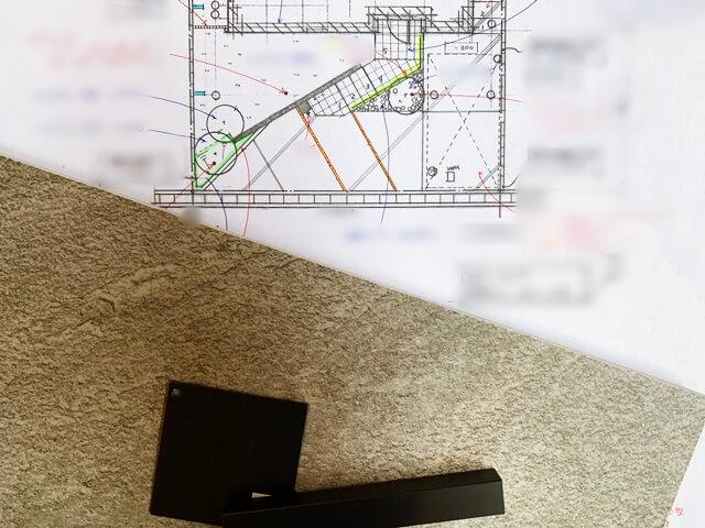 京都 LABOT - lab-t.com - 西京区M様邸新築外構工事の準備中。 -