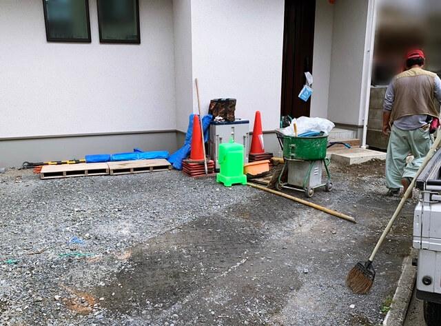 京都 LABOT - lab-t.com - 住友林業で建築された左京区のE様邸、新築外構工事着工しました! -